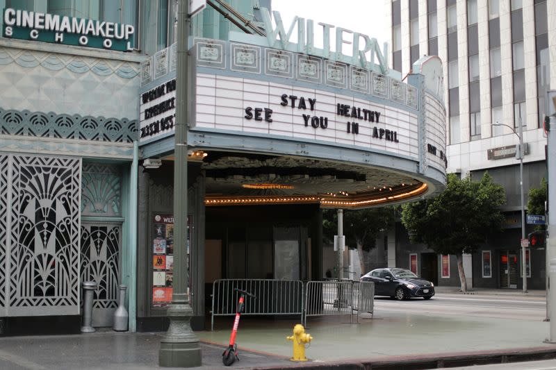 Los Angeles delays movie theater reopenings after rise in coronavirus cases