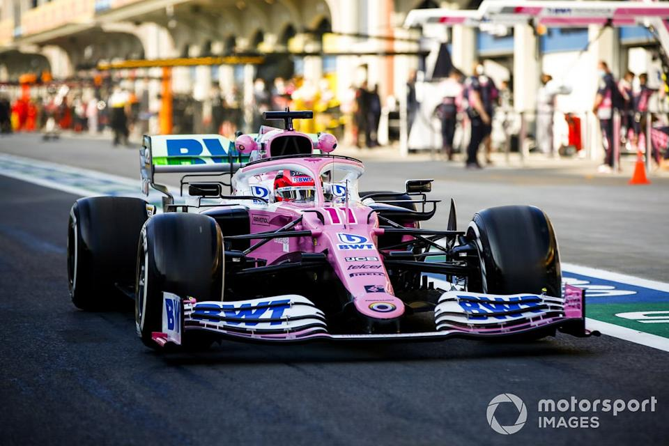 """Sergio Pérez, Racing Point RP20<span class=""""copyright"""">Andy Hone / Motorsport Images</span>"""