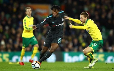 <span>Michy Batshuayi hasn't been able to establish himself in the Chelsea first team</span> <span>Credit: GETTY IMAGES </span>