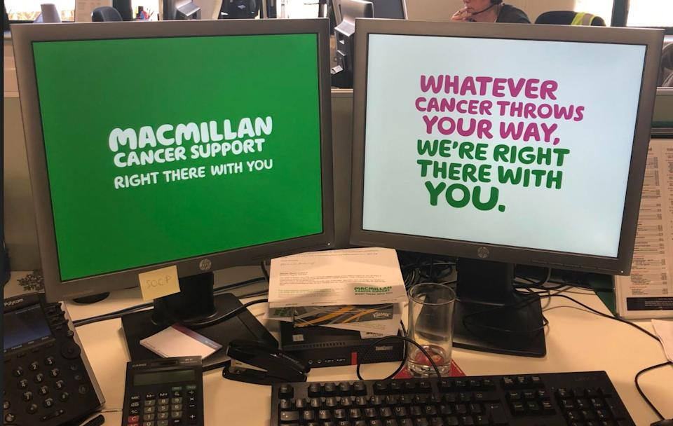 Macmillan Cancer Support is based in Shipley, Yorkshire – but staff are currently working from home (Photo: Aasma Day)