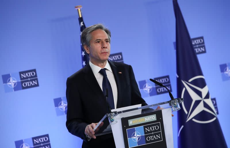 NATO Foreign Ministers' meeting in Brussels