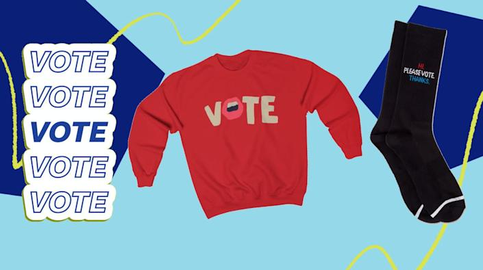 You'll win the popular vote with these not-so-subtle finds. (Photo: HuffPost)
