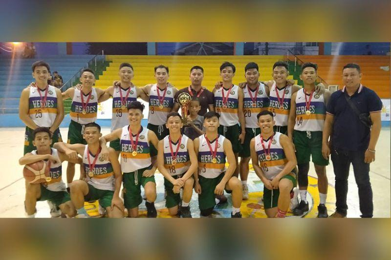 Pajo beat NETMHS; snags NBTC crown