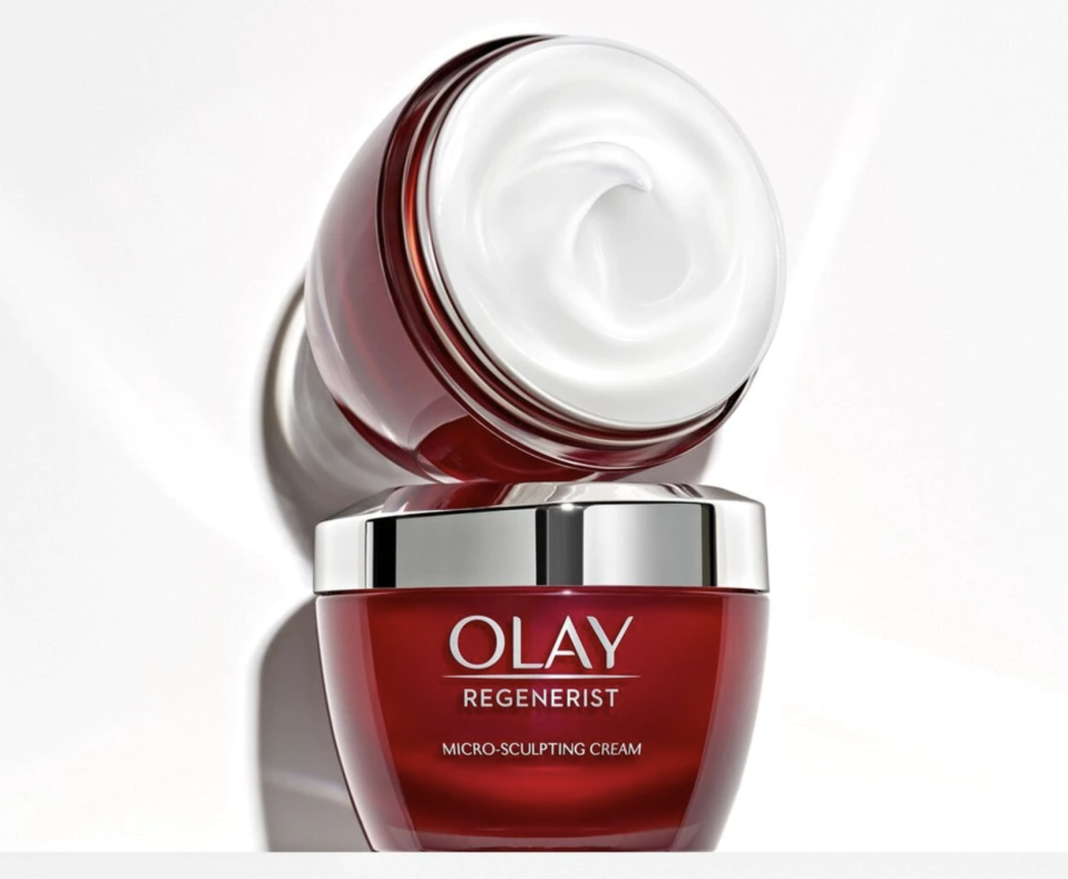"""The """"little red jar"""" has quite a fan base — over 50 million sold. (PhotoL Olay)"""