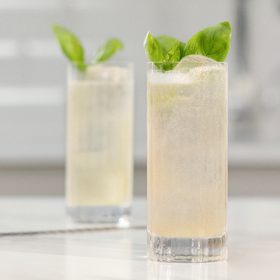 """<p>Based on a classic <a href=""""https://www.delish.com/uk/cocktails-drinks/a30909344/tom-collins/"""" rel=""""nofollow noopener"""" target=""""_blank"""" data-ylk=""""slk:Gin Collins"""" class=""""link rapid-noclick-resp"""">Gin Collins</a>, this cocktail is fruity, herbal AND sour - perfect too for those that just can't cope with the taste of tonic. </p><p>Get the <a href=""""https://www.delish.com/uk/cocktails-drinks/a33511091/basil-and-lychee-collins/"""" rel=""""nofollow noopener"""" target=""""_blank"""" data-ylk=""""slk:Basil & Lychee Collins"""" class=""""link rapid-noclick-resp"""">Basil & Lychee Collins</a> recipe.</p>"""