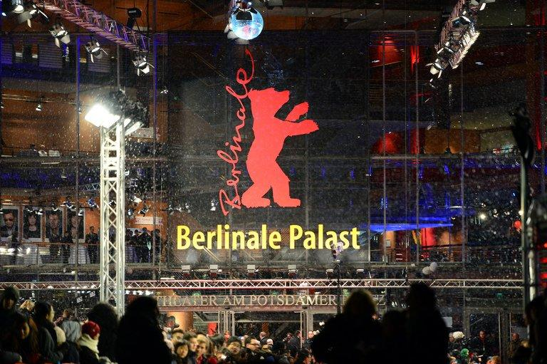 Fans wait at the red carpet of the opening film of the Berlinale film festival in Berlin, on February 7, 2013