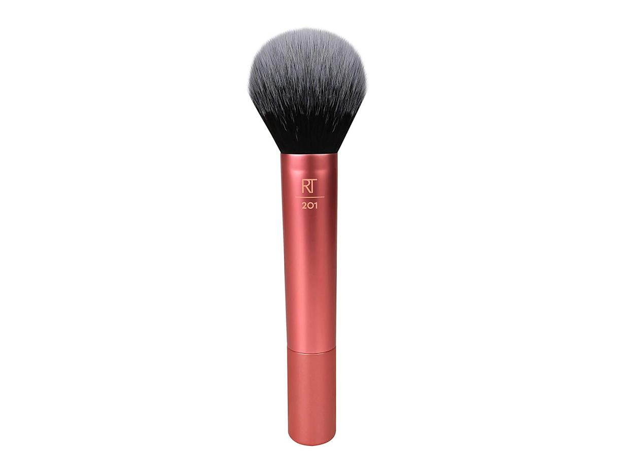 For seamlessly blended makeup, add this powder brush to your basketAmazon