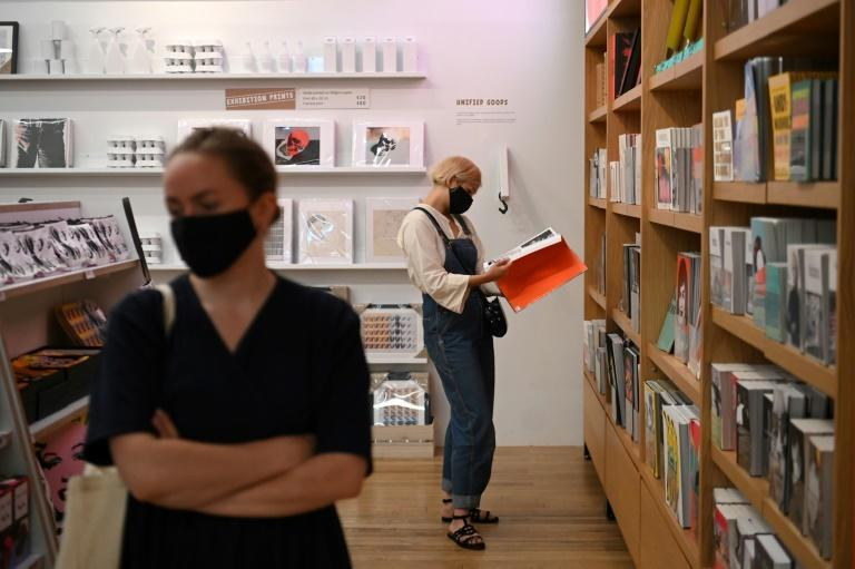 Britain made face masks mandatory in enclosed spaces