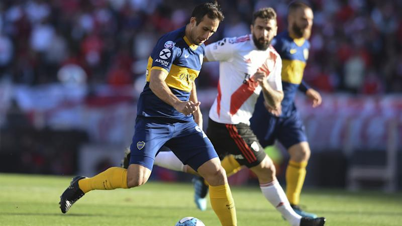 Izquierdoz Pratto River Plate Boca Juniors Superliga 01092019
