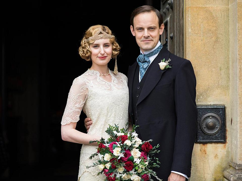 """<p>As her father, Robert, hilariously points out in the series finale, Edith is someone who """"has hardly known a day's happiness in the last 10 years."""" Which is why it's so satisfying to see him recognize that Edith has become an interesting woman with a career and an enviable marriage with a now-wealthy man who adores and encourages her. As finale director Michael Engler <a rel=""""nofollow"""" href=""""https://www.yahoo.com/tv/downton-abbey-postmortem-inside-the-series-033806568.html"""" data-ylk=""""slk:told us;outcm:mb_qualified_link;_E:mb_qualified_link;ct:story;"""" class=""""link rapid-noclick-resp yahoo-link"""">told us</a>, """"What's so great, I think, about Edith's story is that she gets everything that everybody always expected for Mary. She gets it in the most accidental way. It was enjoying the fact that although she gets battered around by fate, this last round happened to be as good to her as the other rounds were bad to her."""" —<em>MB</em><br>(Photo: PBS/Masterpiece) </p>"""