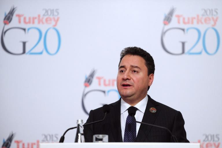 Former economy minister Ali Babacan was credited with overseeing Turkey's economic boom during the AKP's first decade in power but resigned from the party citing the need for a 'new vision' (AFP Photo/OZAN KOSE)