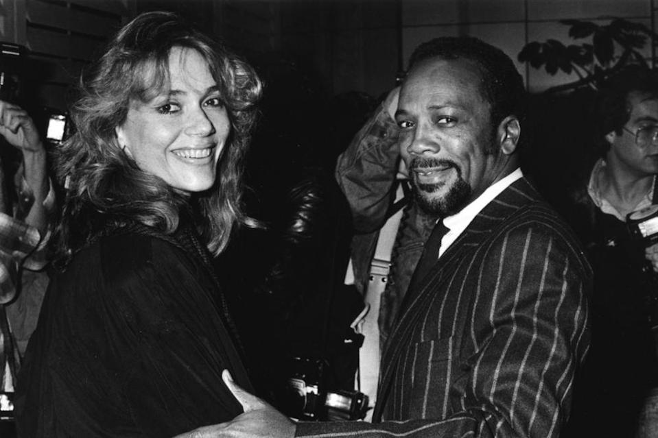 Peggy Lipton and Quincy Jones | Frank Edwards/Fotos International/Getty Images