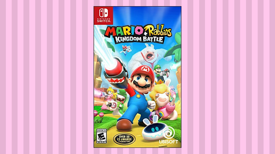 Save 58 on Mario + Rabbids Kingdom Battle for Nintendo Switch. (Photo: Amazon)