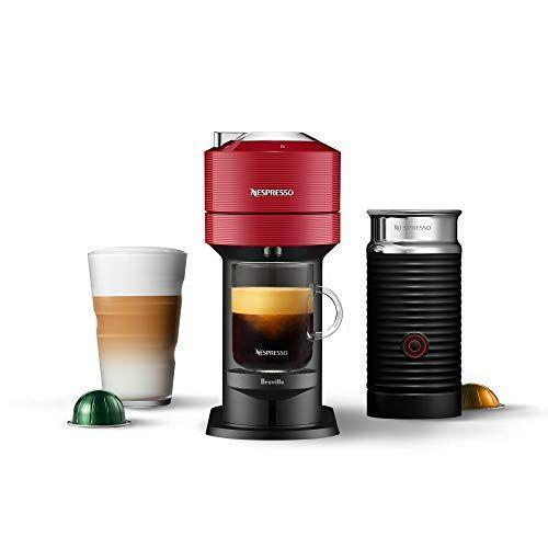 """<p><strong>Breville</strong></p><p>amazon.com</p><p><strong>$157.46</strong></p><p><a href=""""https://www.amazon.com/dp/B08D1RJ5Q5?tag=syn-yahoo-20&ascsubtag=%5Bartid%7C2139.g.34408578%5Bsrc%7Cyahoo-us"""" rel=""""nofollow noopener"""" target=""""_blank"""" data-ylk=""""slk:Shop Now"""" class=""""link rapid-noclick-resp"""">Shop Now</a></p><p>Take your couple's coffee ritual to the next level with this Nespresso machine. It's like multiple gifts in one as each Vertuo coffee machine also includes a set of 12 Nespresso Vertuo coffee capsules, offering an introduction to the various size and flavor options.</p>"""