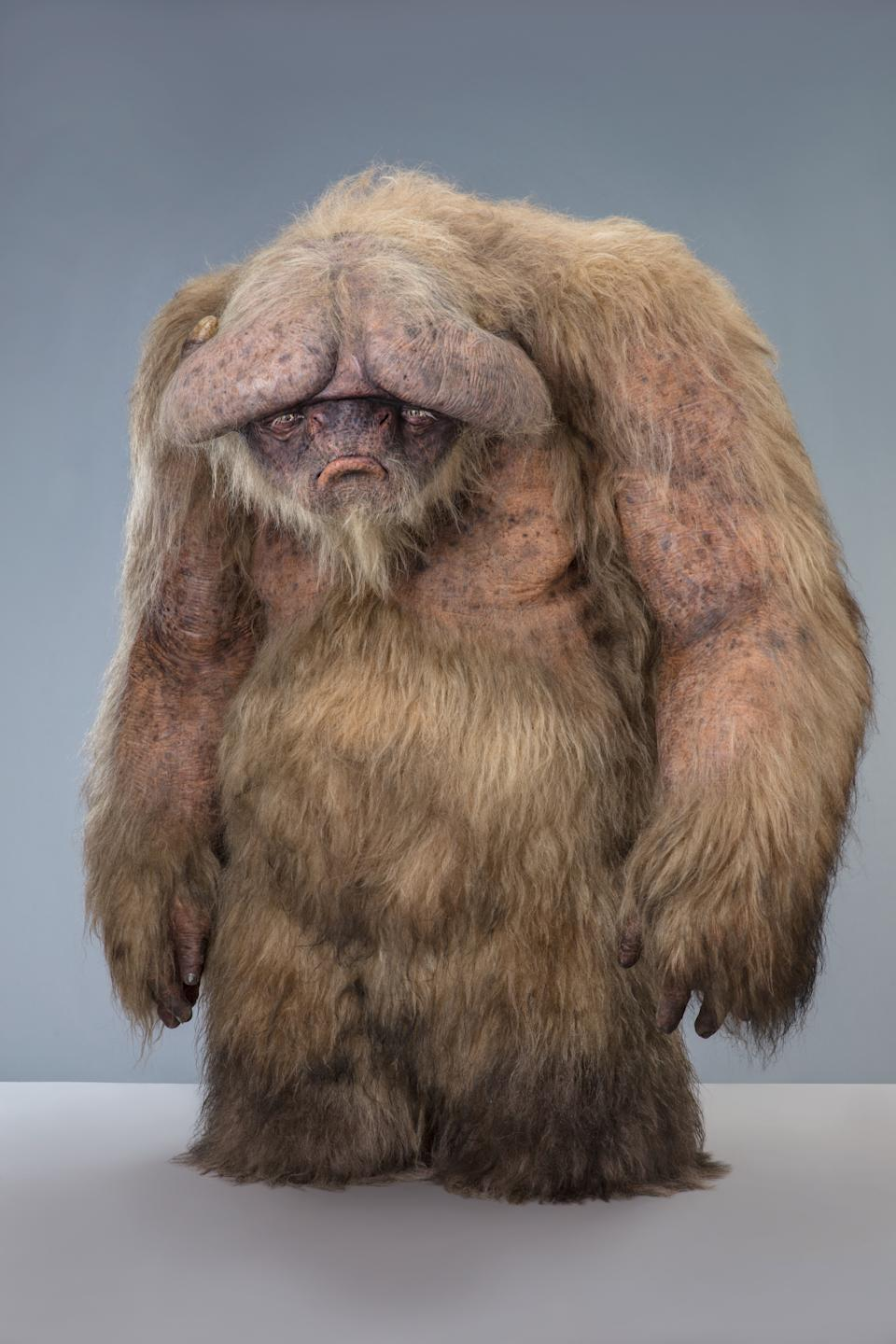 Scanlan and his F/X team created this 'The Rise of Skywalker' creature as an homage to Ludo from 'Labyrinth' (Photo: Lucasfilm Ltd.)