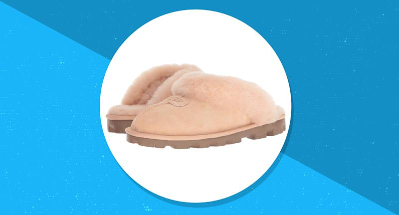 Zappos is having a flash sale on the versatile Ugg Coquette slippers, but only for a limited time! (Photo: Zappos)