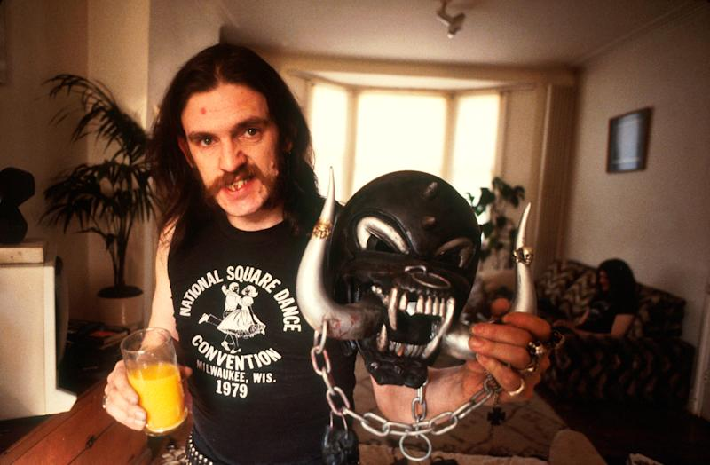 Lemmy Kilmister of Motorhead, portrait, 1982. (Photo by Michael Putland/Getty Images)