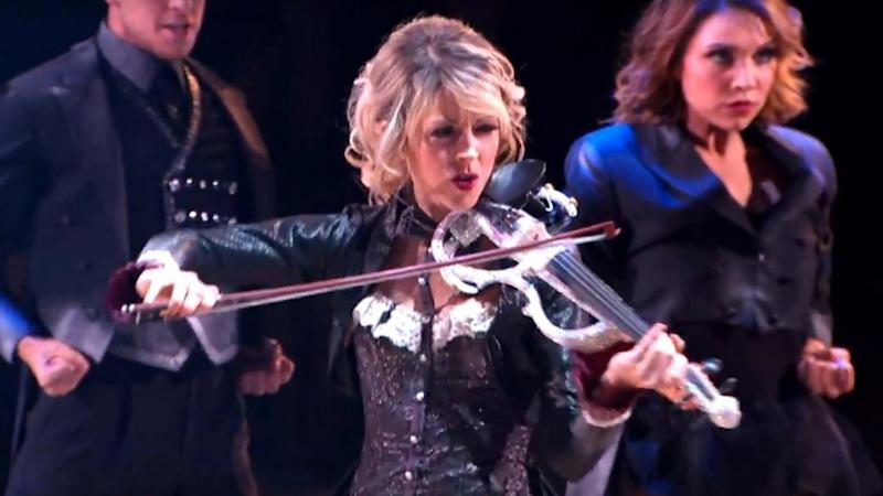 Lindsey Stirling Dances While Playing Violin in Mind-Blowing Freestyle in Night 1 of 'DWTS' Finals