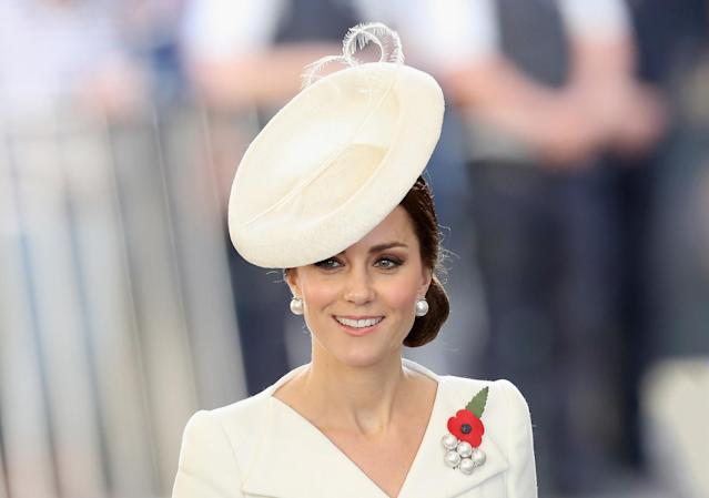The Duchess of Cambridge has apparently been buying duplicates of outfits to remain looking perfect. (Photo: PA)