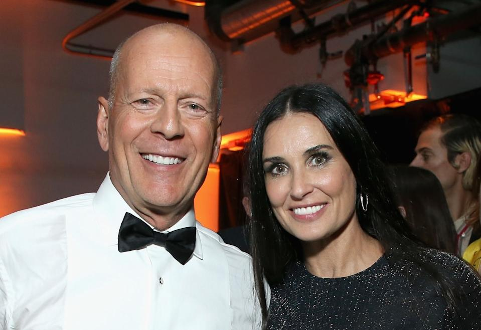Bruce Willis y Demi Moore. (Foto: Phil Faraone / Getty Images)