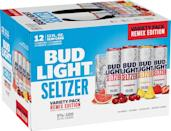 """<p>Bud Light pivoted from their normal beer selection and released Bud Light Seltzer back in January. The original flavors included black cherry, strawberry, mango, and lemon lime, and now they're making even more flavors to enjoy. </p><p>The new Bud Light Seltzer variety pack """"Remix Edition"""" will include grapefruit, cranberry, and pineapple along with the original strawberry. It launches in stores on August 31, but until then you can still pick up the original variety pack.</p><p><a class=""""link rapid-noclick-resp"""" href=""""https://go.redirectingat.com?id=74968X1596630&url=https%3A%2F%2Fdrizly.com%2Fbeer%2Fspecialty-beer-alternatives%2Fhard-seltzer%2Fbud-light-seltzer-variety-pack%2Fp100674&sref=https%3A%2F%2Fwww.delish.com%2Fkitchen-tools%2Fcookware-reviews%2Fg33263238%2Fhard-seltzers%2F"""" rel=""""nofollow noopener"""" target=""""_blank"""" data-ylk=""""slk:BUY NOW"""">BUY NOW</a> <strong><em>Bud Light Seltzer Variety Pack, $17.99, drizly.com</em></strong></p>"""
