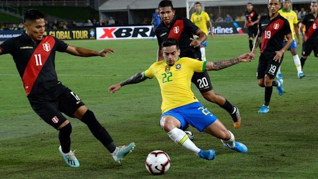 Brazil lost to Peru on Tuesday, dealt their first defeat in over a year, but Fagner hoped to use the experience as a positive.