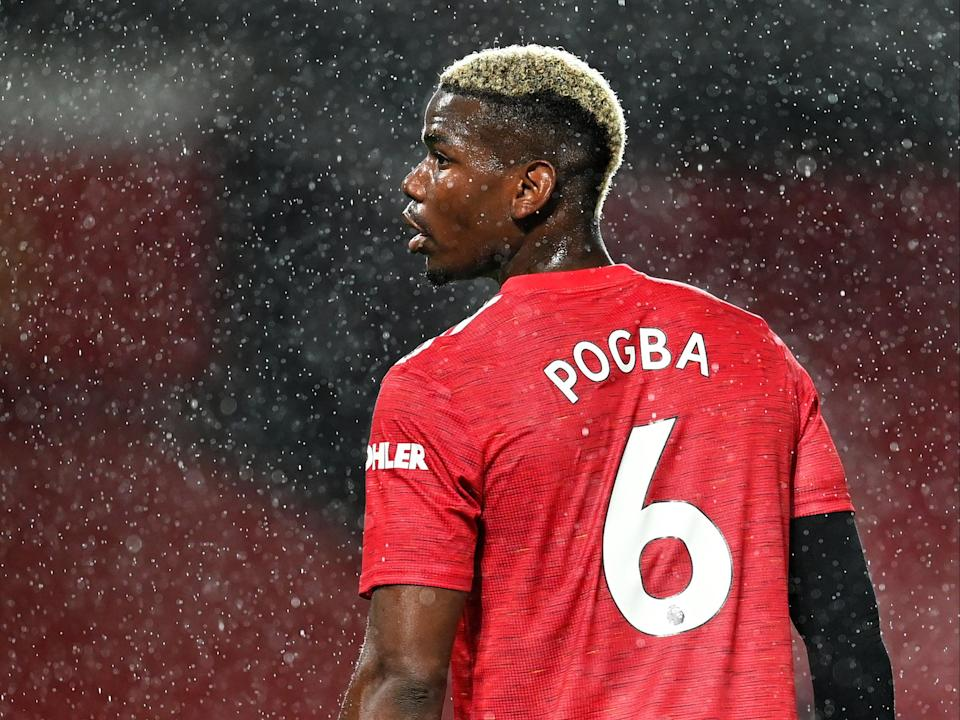 Manchester United midfielder Paul Pogba (Getty Images)
