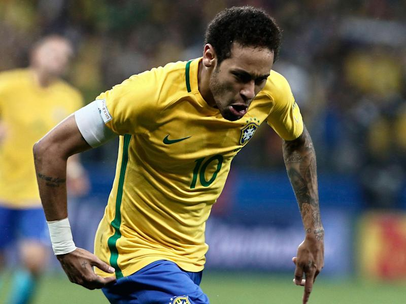 Neymar helped Brazil become the first nation to qualify for the 2018 World Cup: Getty