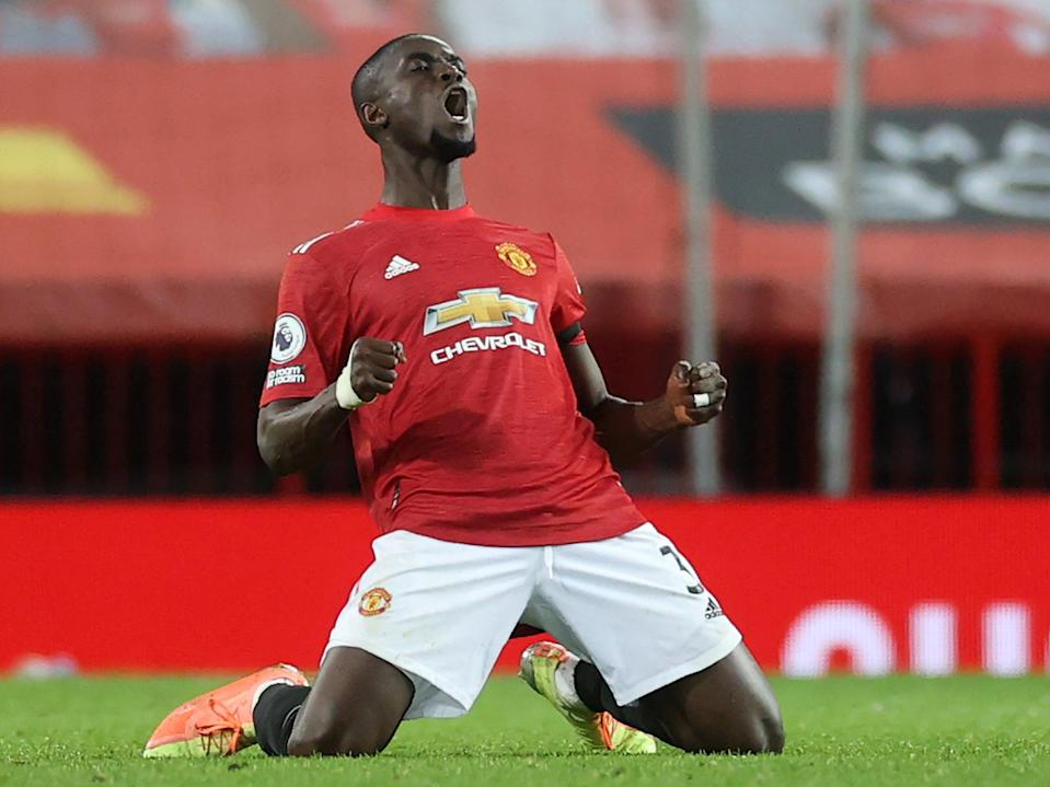 Manchester United defender Eric Bailly (POOL/AFP via Getty Images)
