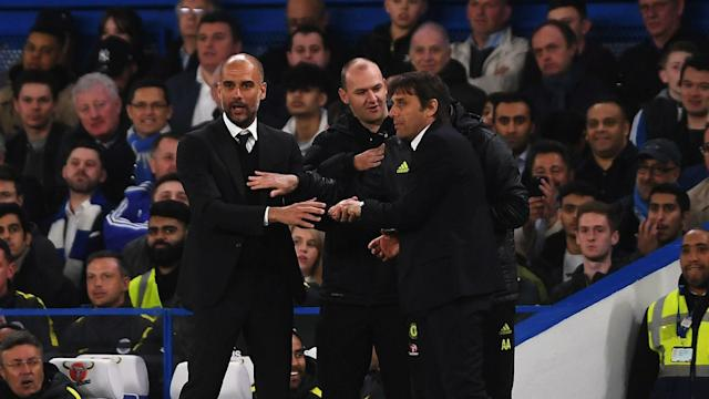 Pep Guardiola praised Manchester City's dignity in defeat as he dismissed rumours of a tunnel bust-up with Premier League leaders Chelsea.