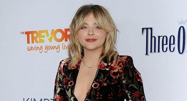 Chloë Grace Moretz attends the TrevorLIVE Los Angeles 2016 fundraiser at The Beverly Hilton Hotel on Dec. 4, 2016 in Beverly Hills, Calif. (Photo: Jason LaVeris/FilmMagic)