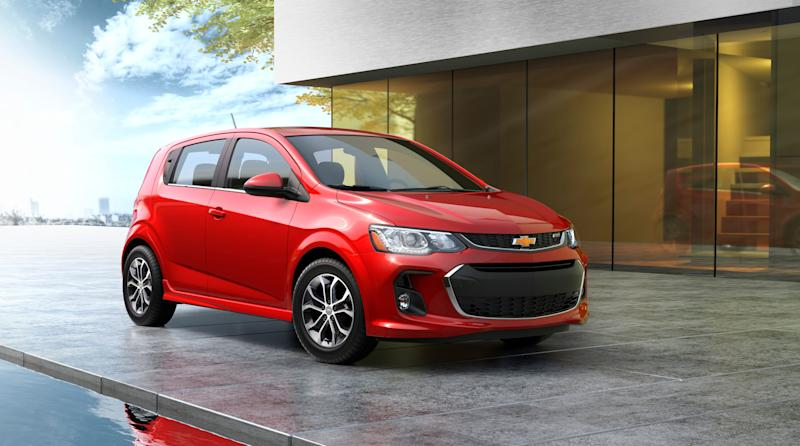 The 2020 Chevrolet Sonic ranked the highest among all vehicles on the 2020 J.D. Power Initial Quality Study, which rates vehicles based on their performance in the first 90 days after they are sold.
