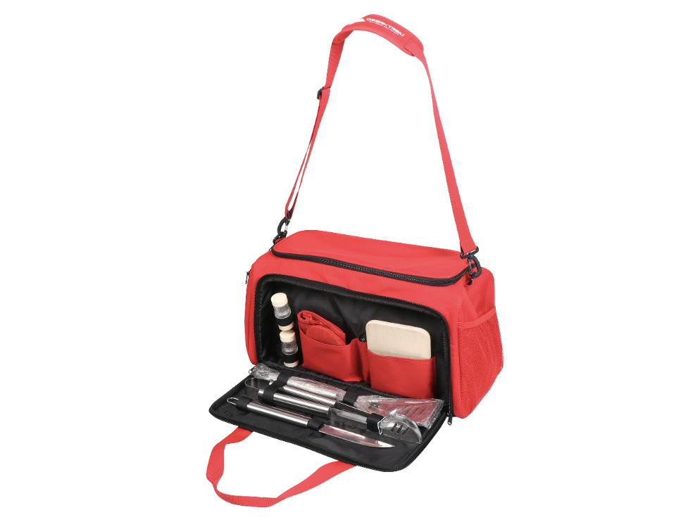 Ozark Trail Tailgate Cooler with 7-piece Cookout Set (Photo: Walmart)