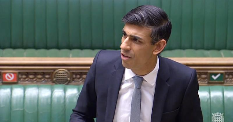 Chancellor Rishi Sunak, who is celebrating his 40th birthday today, makes a statement in the House of Commons on the government's economic package in response to the coronavirus outbreak. (Photo by House of Commons/PA Images via Getty Images)