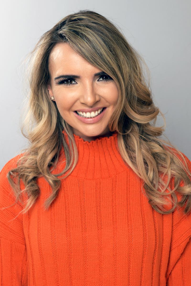 BOREHAMWOOD, ENGLAND - NOVEMBER 16: Nadine Coyle poses for a portrait backstage at BBC Children In Need's 2018 appeal night at Elstree Studios on November 16, 2018 in Borehamwood, England. (Photo by Dave J Hogan/Dave J Hogan/Getty Images)