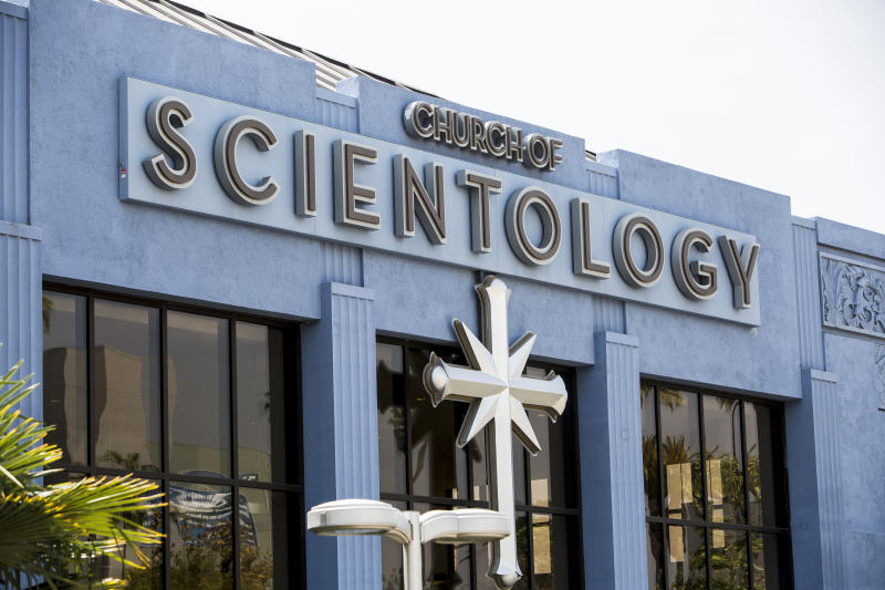 A Church of Scientology in Los Angeles. (Ted Soqui via Getty Images)