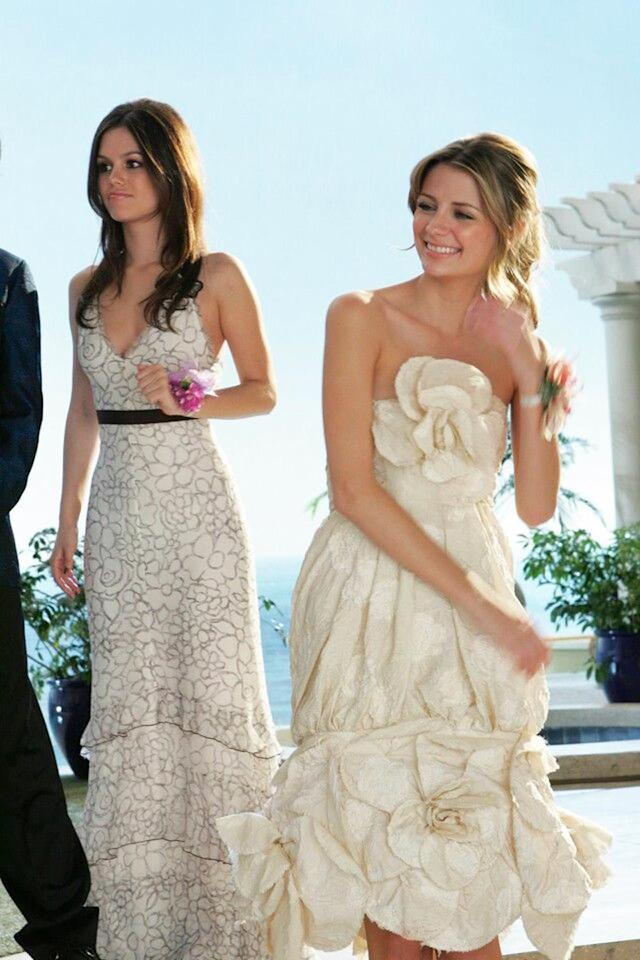 <p>In the Season 3 prom episode, though Marissa is not having a great night with bad boy Volchok, she looks killer in one of her final scenes in none other than a camellia dress from Chanel's Spring 2006 line. (Photo: Fox) </p>