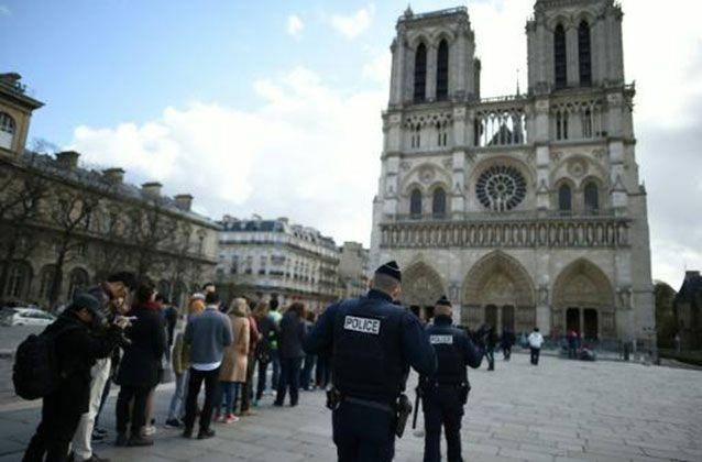 Clear links also emerged on Friday between the women arrested and jihadist attacks in France. Picture: AFP