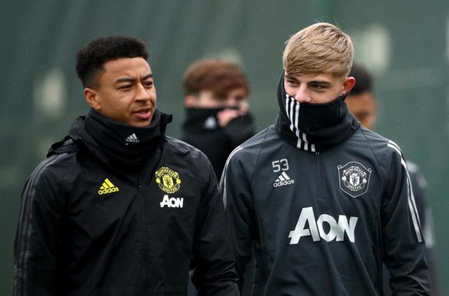 Brandon Williams, right, and Jesse Lingard, left, are two graduates from the club's academy