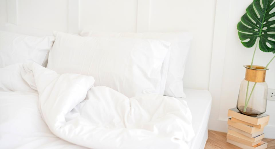 Pillowcases can harbour bacteria if not washed regularly enough. (Getty Images)