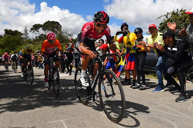 Tour Colombia 2020 - 3rd Edition - 5th stage Paipa - Zipaquira' 180.5 km - 13/02/2020 - Egan Bernal (COL - Team Ineos) - photo Dario Belingheri/BettiniPhoto©2020