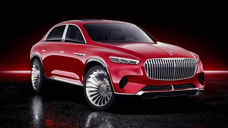 Vision Mercedes-Maybach Ultimate Luxury - Les fuites