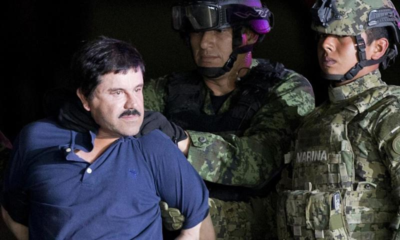 El Chapo faces a string of charges in a New York court and prosecutors are seeking the forfeiture of more than $14bn in illicit earnings made by his cartel.