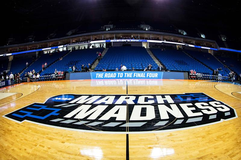 The Ohio governor announced that the state will order fans not to attend NCAA tournament games in the state. (Photo by William Purnell/Icon Sportswire via Getty Images)