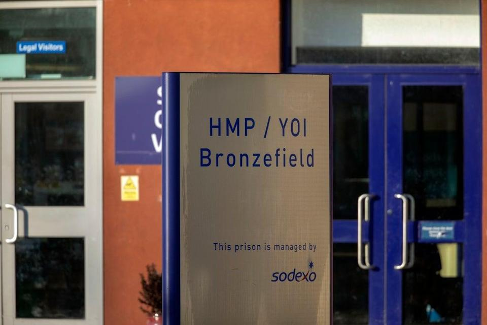 HMP Bronzefield, in Ashford, Surrey (Steve Parsons/PA) (PA Archive)