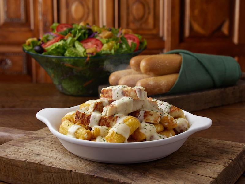 Olive Garden Has A Crazy New Breadstick Creation: Olive Garden Is Now Serving Never-Ending Stuffed Pasta And
