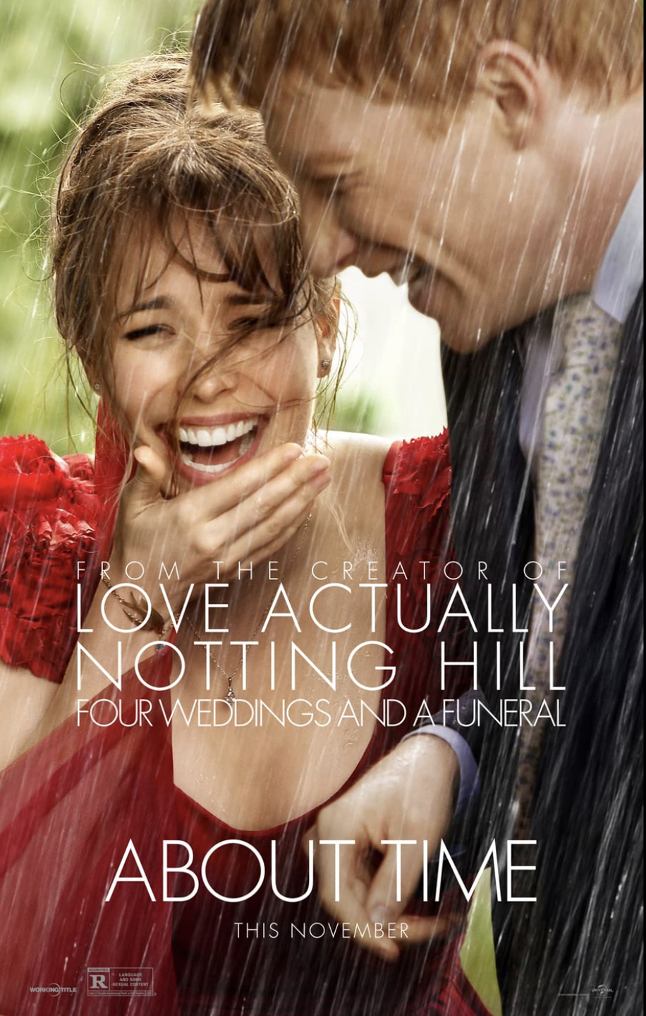 "<p>This movie will have you laughing hysterically one minute, then ugly-crying the next. When he turns 21, socially awkward Tim learns that he has the ability to rewind time. And with great power comes... the chance to date the girl of his dreams, no matter how many tries it takes to get right.</p><p><a href=""https://www.netflix.com/search?q=About%20Time&jbv=70261674"" rel=""nofollow noopener"" target=""_blank"" data-ylk=""slk:STREAM NOW"" class=""link rapid-noclick-resp"">STREAM NOW</a></p>"
