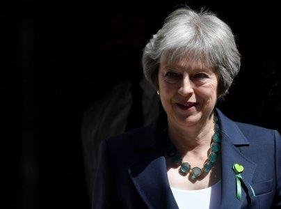 Britain's Prime Minister Theresa May leaves 10 Downing Street in London, June 13, 2018. REUTERS/Toby Melville