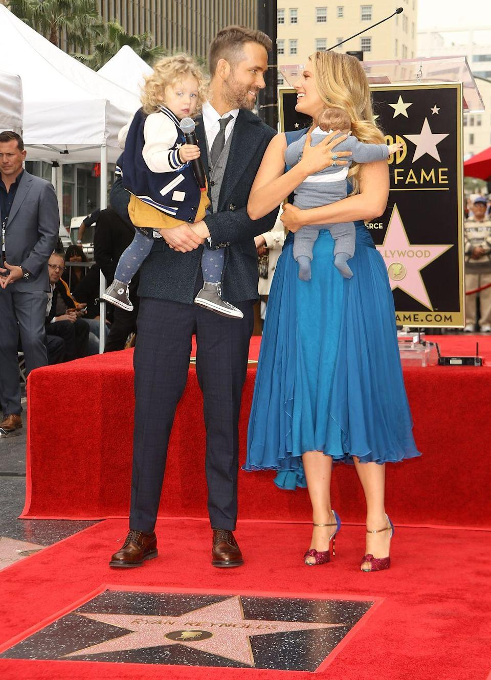 <p>Ryan Reynolds and his wife Blake Lively have two daughters—James and Ines—but you might not always remember because the couple tries their best not to publicize them.</p>