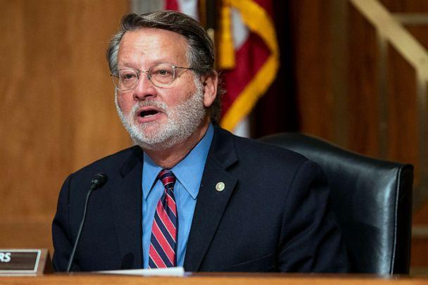 PHOTO: Senate Homeland Security & Governmental Affairs Committee Chairman Sen. Gary Peters  on Sept. 21, 2021, in Washington, D.C. (Greg Nash/Pool/Getty Images, FILE)